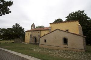 De kerk van Santa Eulallia te Abamia