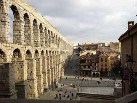 Aquaduct te Segovia