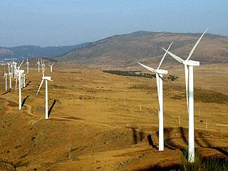 Windmolenpark in Ávila