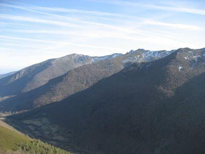 Uitzicht op de bergen van Ancares, de westelijke grens van de provincie.