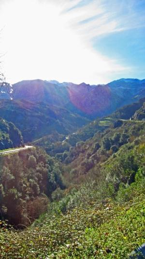 De bergen rondom Cangas de Onis.
