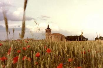 Castiliaans tarweveld in Segovia