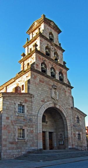 De kerk van Nuestra Señora de la Asunción.