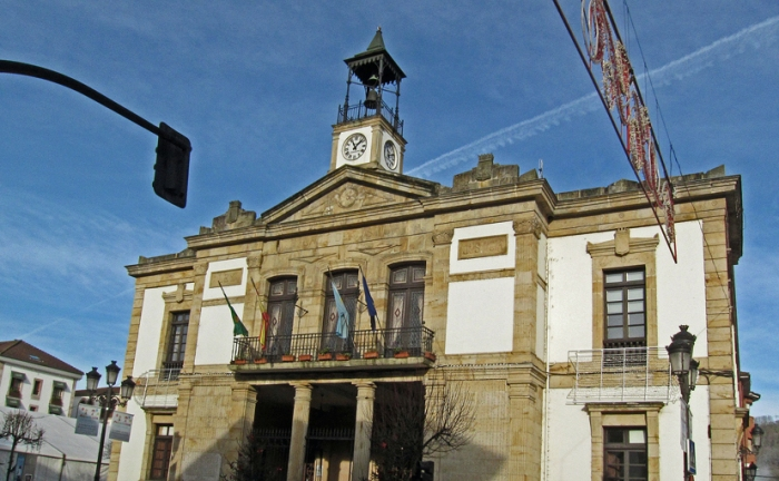 Stadhuis van Cangas de Onis.