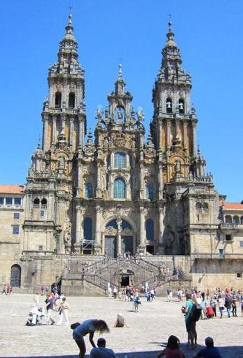 Kathedraal Vna Santiago de Compostela (La Coruña)