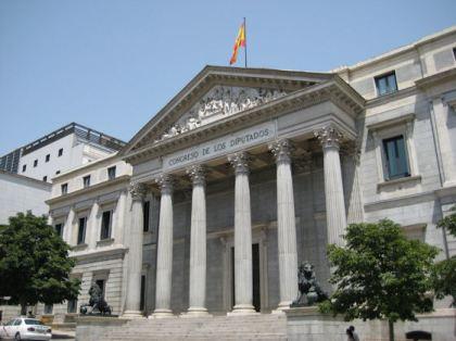 Palacio de las Cortes, zetel van het Congres van Afgevaardigde.