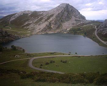 Lago Enol, In het park Picos de Europa