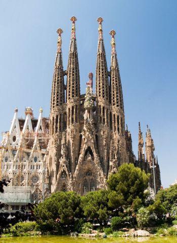 Het oude Testament,van de Basilica de la Sagrada Familia, Barcelona