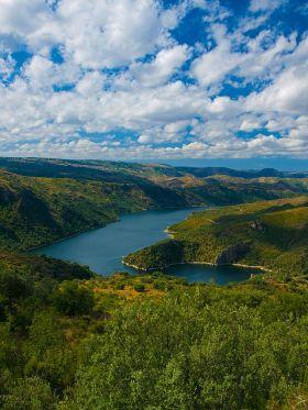 Natuurpark van Arribes de Duero, ook een park waar de vogels worden beschermd