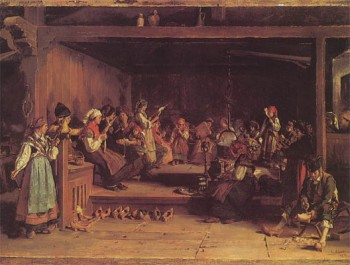 Filandón, schilderij uit 1872 van Luis Álvarez Catalá.