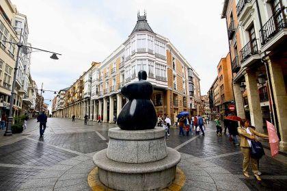 Calle Mayor van Palencia.