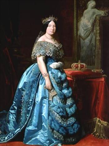 Koningin Isabel II van Spanje