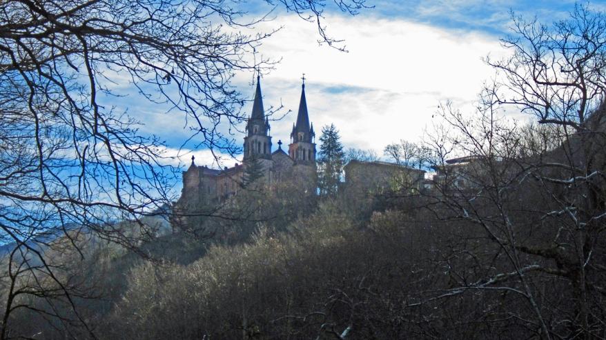 De kathedraal van Covadonga.