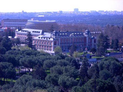 Palacio de Moncloa, officiële residentie van de Minister President.