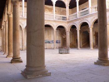 Renaissance paleis van Grajal de Campos.