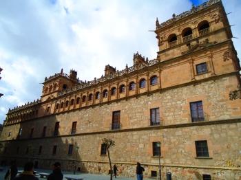 Palacio de Monterrey in Salamanca is een belangrijk voorbeeld van de architectuur van Spaanse Renaissance paleizen