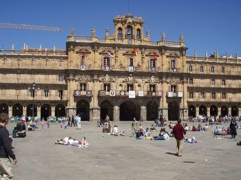 Plaza Mayor van Salamanca