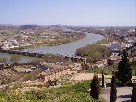 De oevers van de Ebro rond Tudela