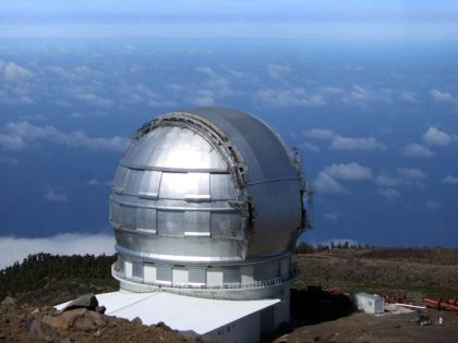 Grote telescoop van Canarias.
