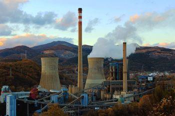 De thermische centrale van La Robla.