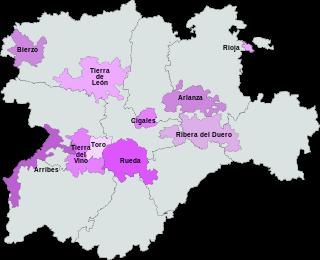 D.O. wijnen uit Castilla y León