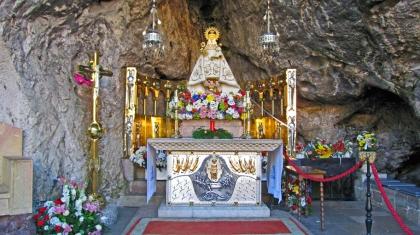 De Heilige Maagd van Covadonga.