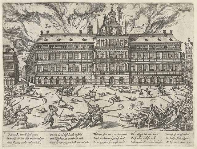 Spaanse furie in Antwerpen