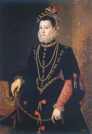 Isabel de Valois, de derde gemailin van Filips II