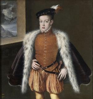Prins Carlos, eerste zoon van Filips II