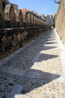 De Middeleeuwse muren.