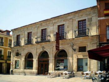 Casa de las Carnicerias (huis vasn de slagers) León.