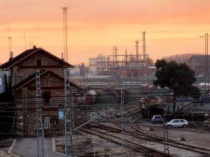 Door de komst van het spoor veranderende er veel in León.