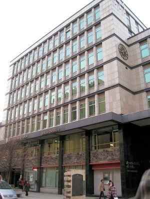Het kantoorgebouw van de gemeenteraad van León.