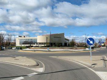 Het gemeentehuis, San André