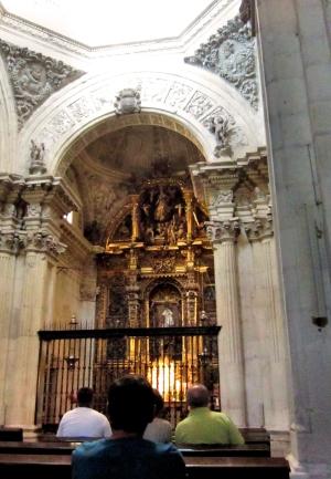 Kapel waar de koningen liggen begraven.