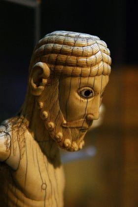 Cristo de Carrizo, een van de meest waardevolle stukken van het museum.