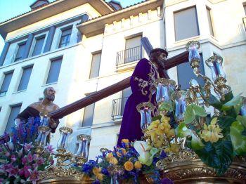 De kruisiging van Jezus, Semana Santa.