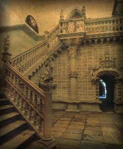 De patereske trap van Juan de Badajoz, el mozo, kathedraal van León