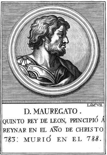 Mauregato of Asturias 783-789