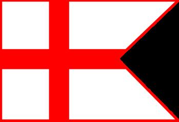De vlag van Ramiro I