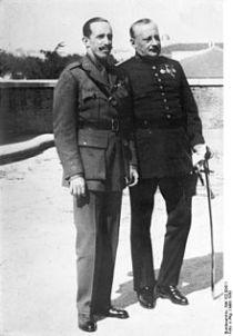 Alfonso XIII en Primo de Rivera in 1930.