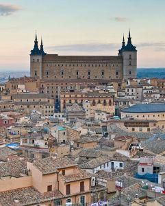 Toledo, de Visigotisch hoofdstad.
