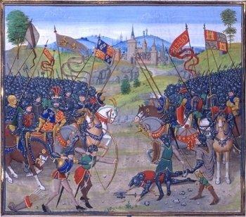 De slag om Nájera of van Navarette (1367)