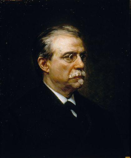 Antonio Canovas del Castillo was een sleutelfiguur in de tweede helft van de 19ᵉ eeuw , hij was de drijfveer achter de grondwet van 1876, die het begin van institutionele stabiliteit markeerde. Hij werd vermoord op 8 aug. 1897, in Mondragón. Doodgeschoeten door de anaarchist Michele Angiolillo.