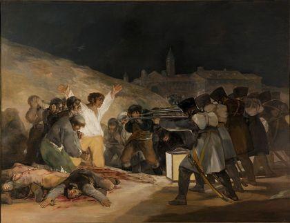 Goya's, de volgende dag, 3 mei 1808
