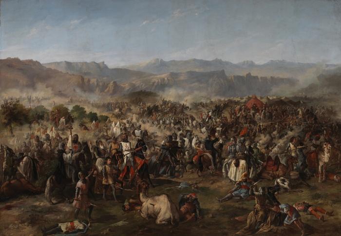 De gigantische slag van Las Navas de Tolosa in 1212, markeerde het begin van het einde van de islamitische koninkrijken in Spanje.