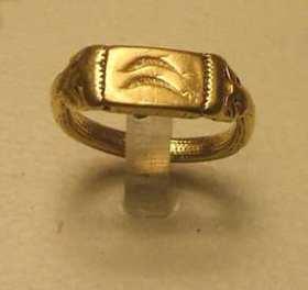 Fenicische ring gevonden in Cadiz