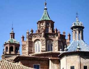 Moorse koepel van de kathedraal van Teruel