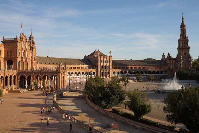 Plaza de España =, Sevilla
