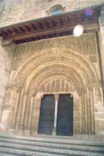 Porta Speciosa van het klooster van Leyre in Navarra